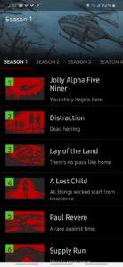 Zombies, Run! initial mission list